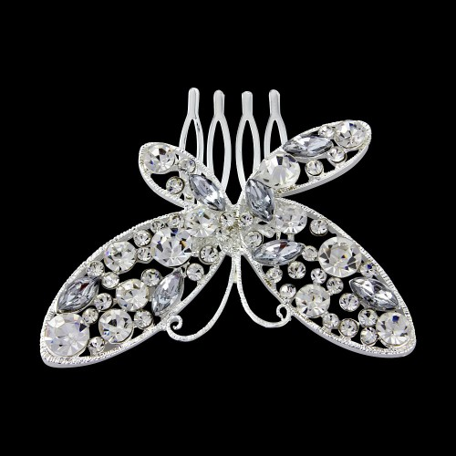 Butterfly Bridal Comb