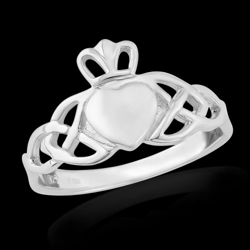 Trinity Claddagh Ring